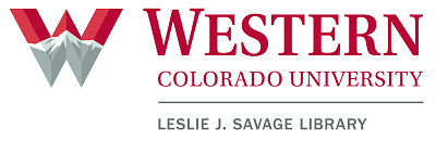 Western Colorado University Library Logo