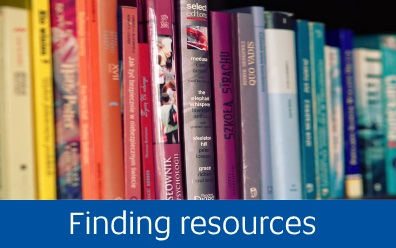 Navigate to finding resources page