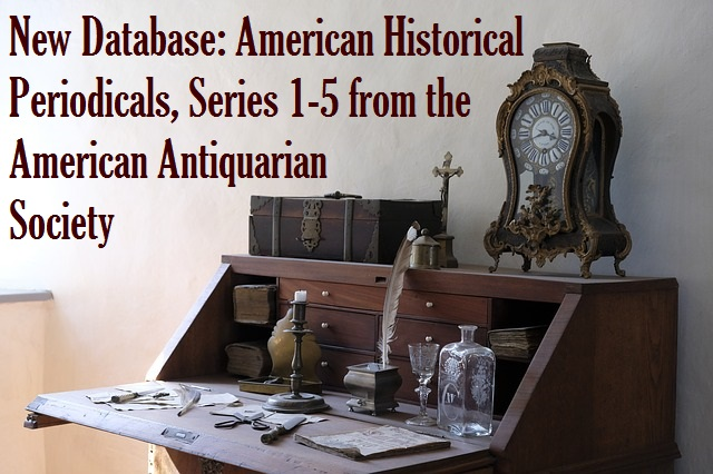 Image of antique writing desk