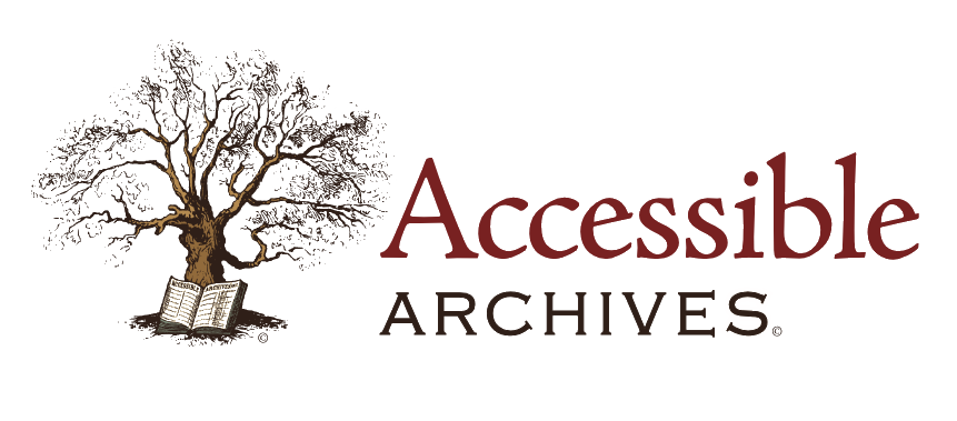 Accessible Archives Logo with Tree