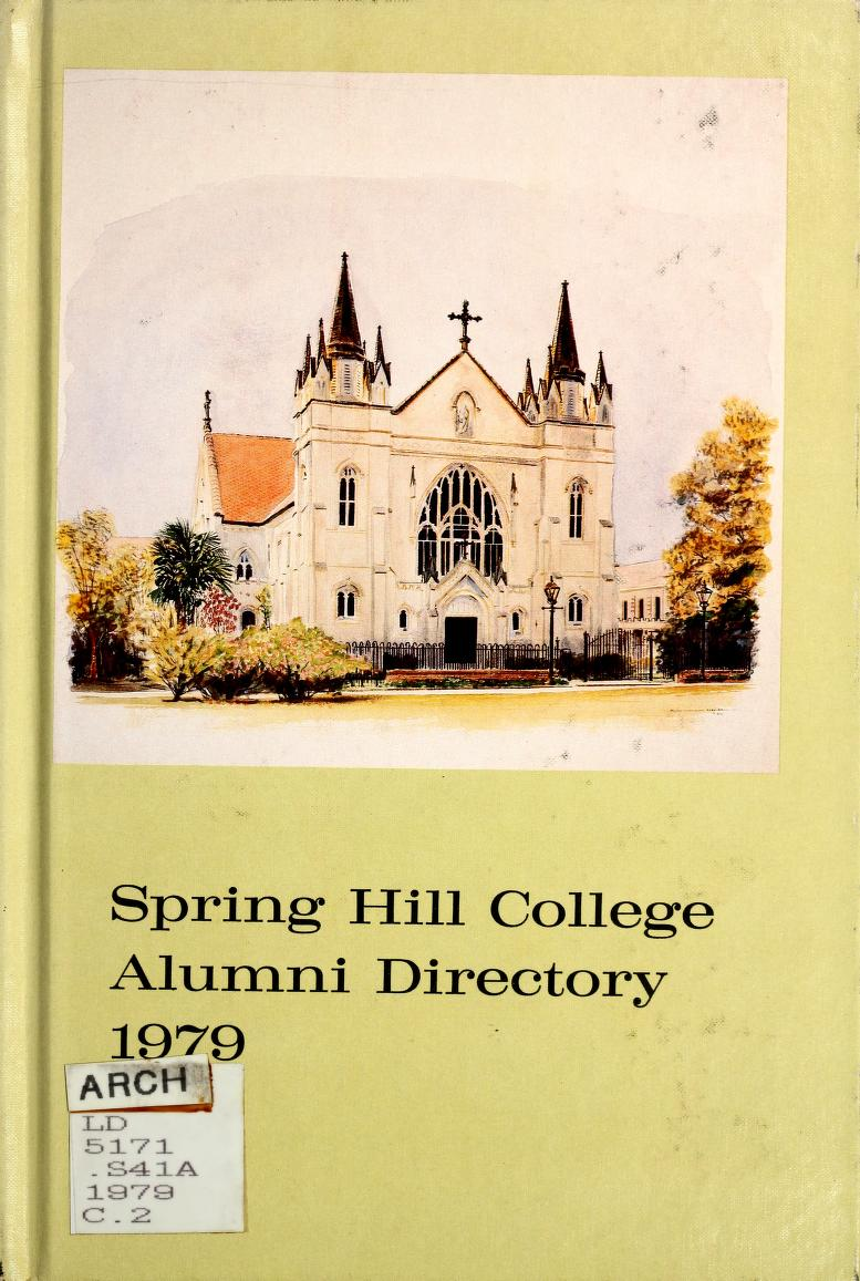 Cover of the 1979 alumni directory