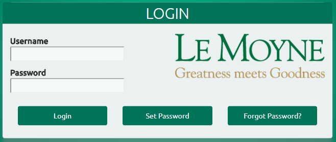 Campus Login Form
