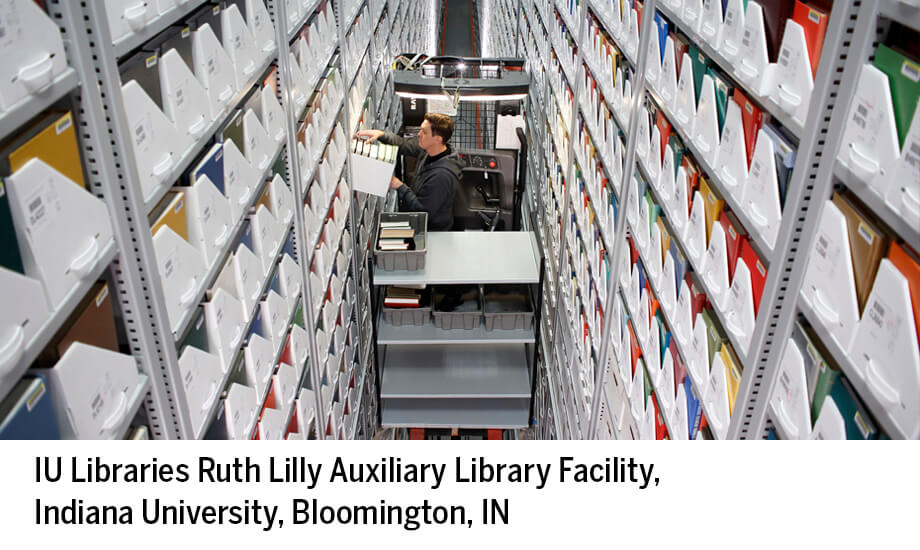 IU (Bloomington), Lilly Aux. Library Facility