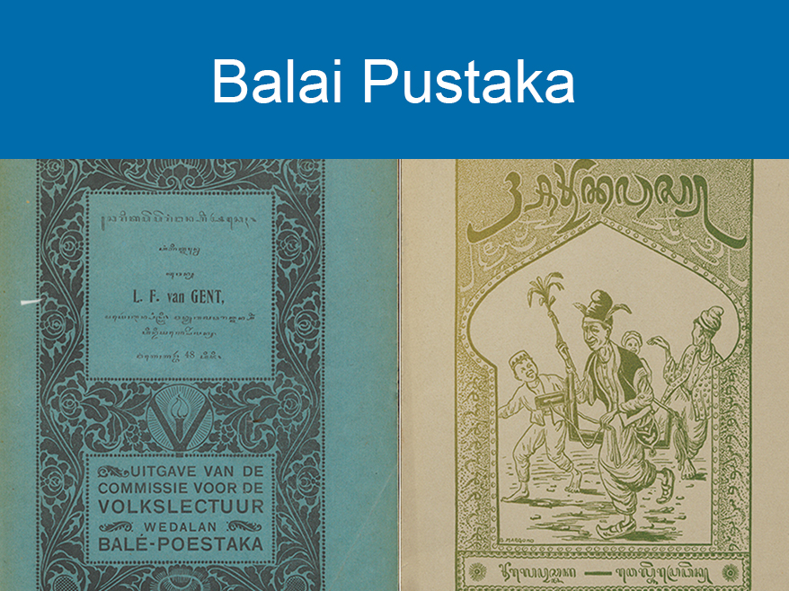 Balai Pustaka Collection