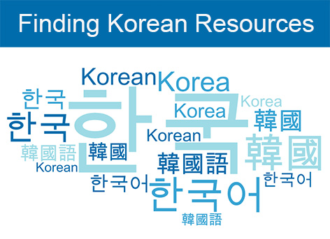 Finding Korean Resources
