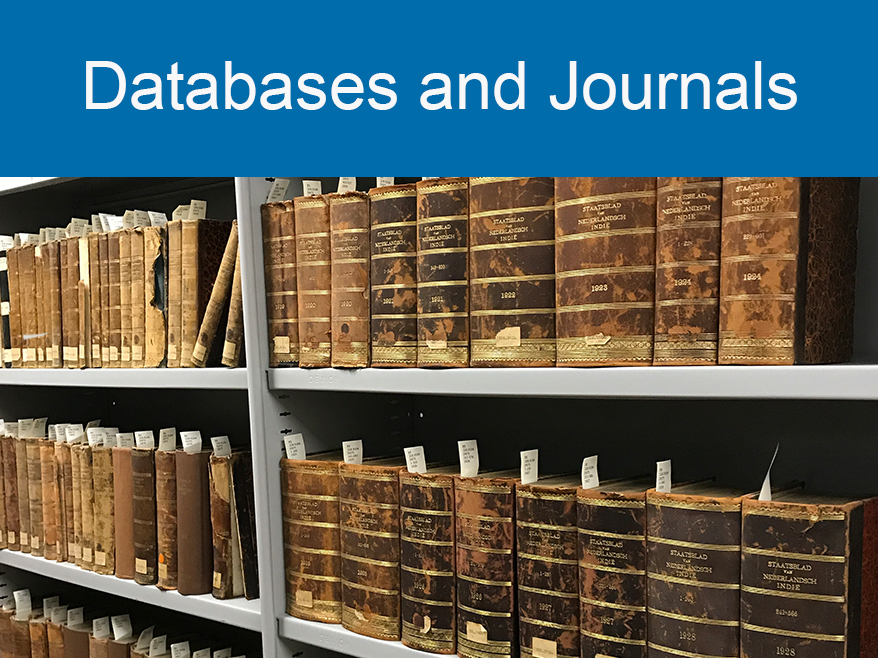 Databases and Journals