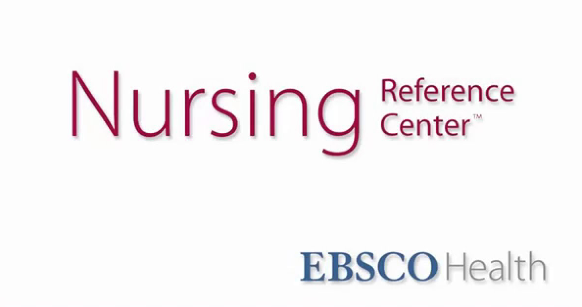 Nursing Reference Center image