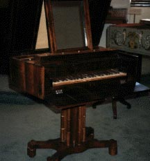 Image of Sewing-cabinet Piano (Austria?, ca. 1830)