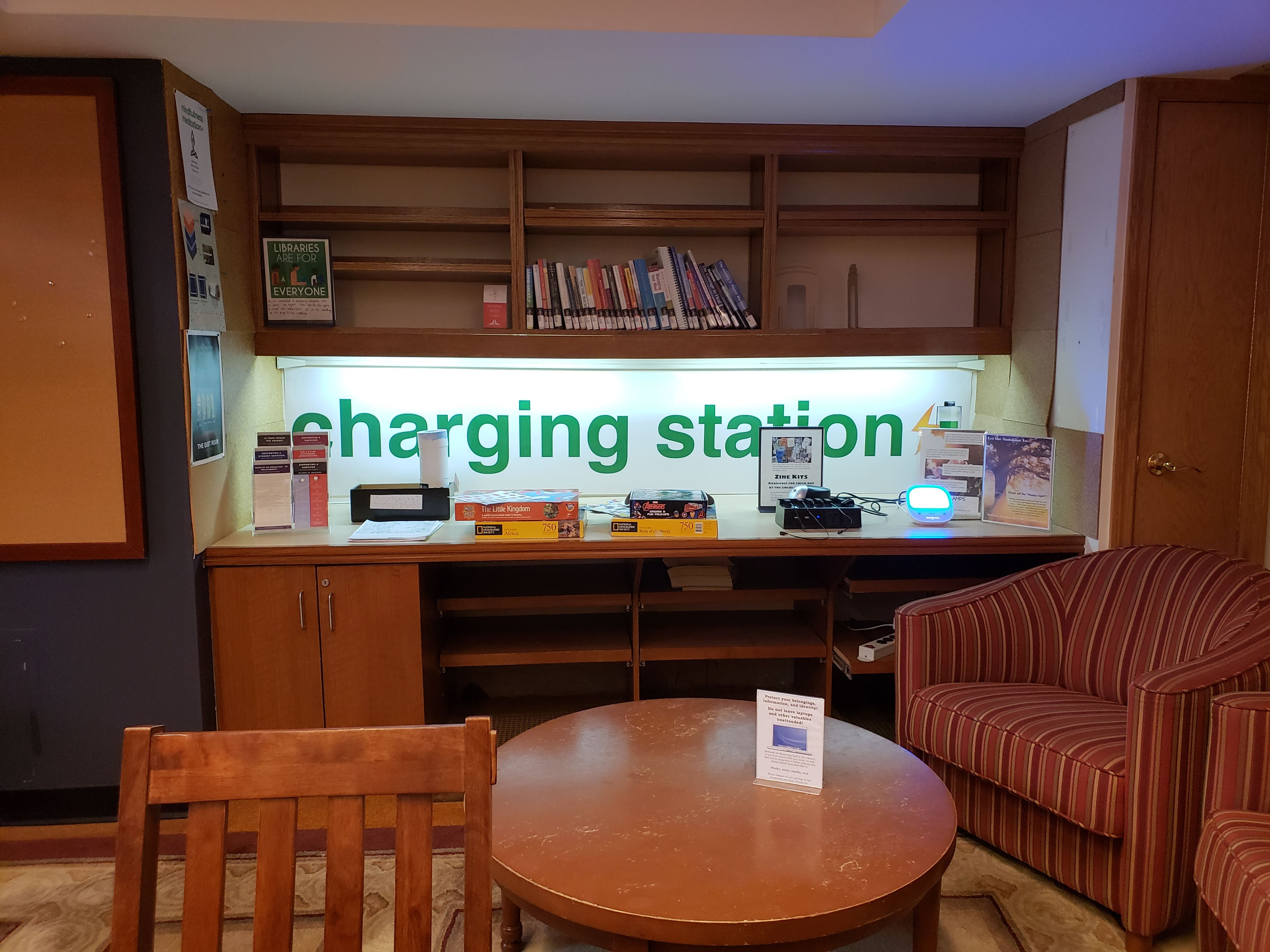 Charging stations!