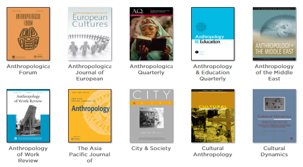Cultural anthropology journals screenshot