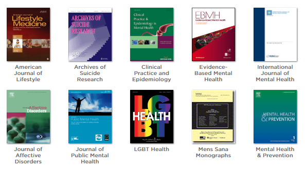 Mental Health Journals screenshot