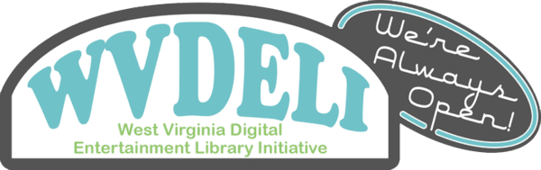 West Virginia Digital Entertainment Library Initiative Logo
