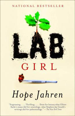 "Dust jack of book ""Lab Girl."""