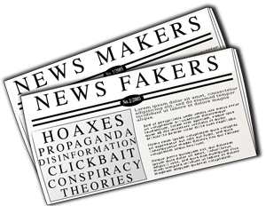 News Makers - News Fakers newspaper image