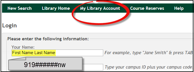 [ library account graphic ]