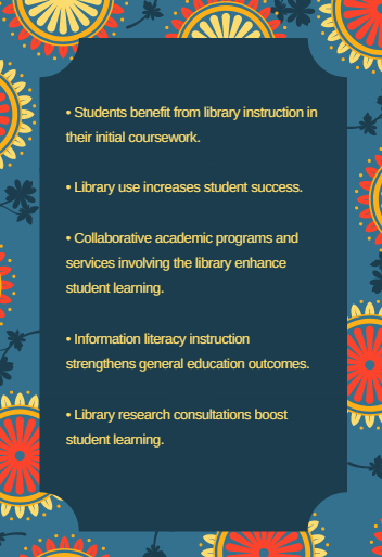 [ benefits of library instruction ]