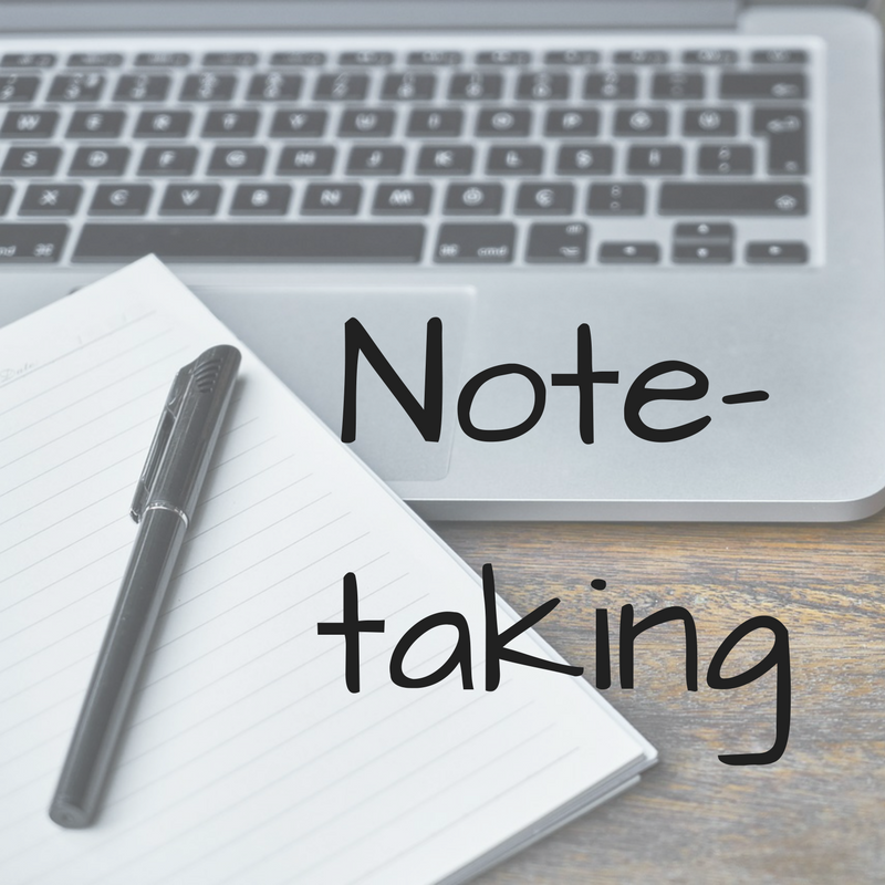 Link to Note-taking page