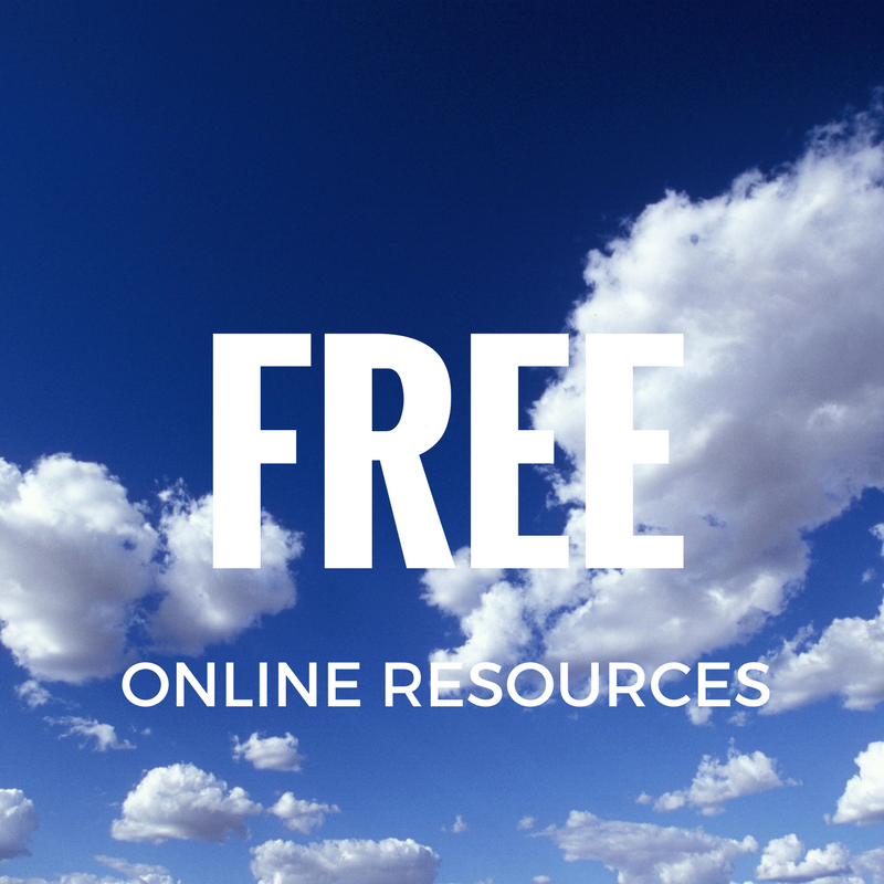 Link to free online resources page