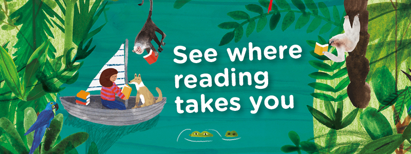 See where reading takes you banner