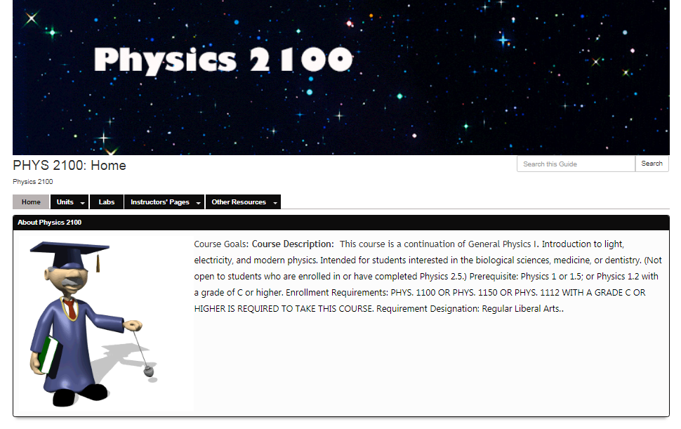 link to Physics 2100