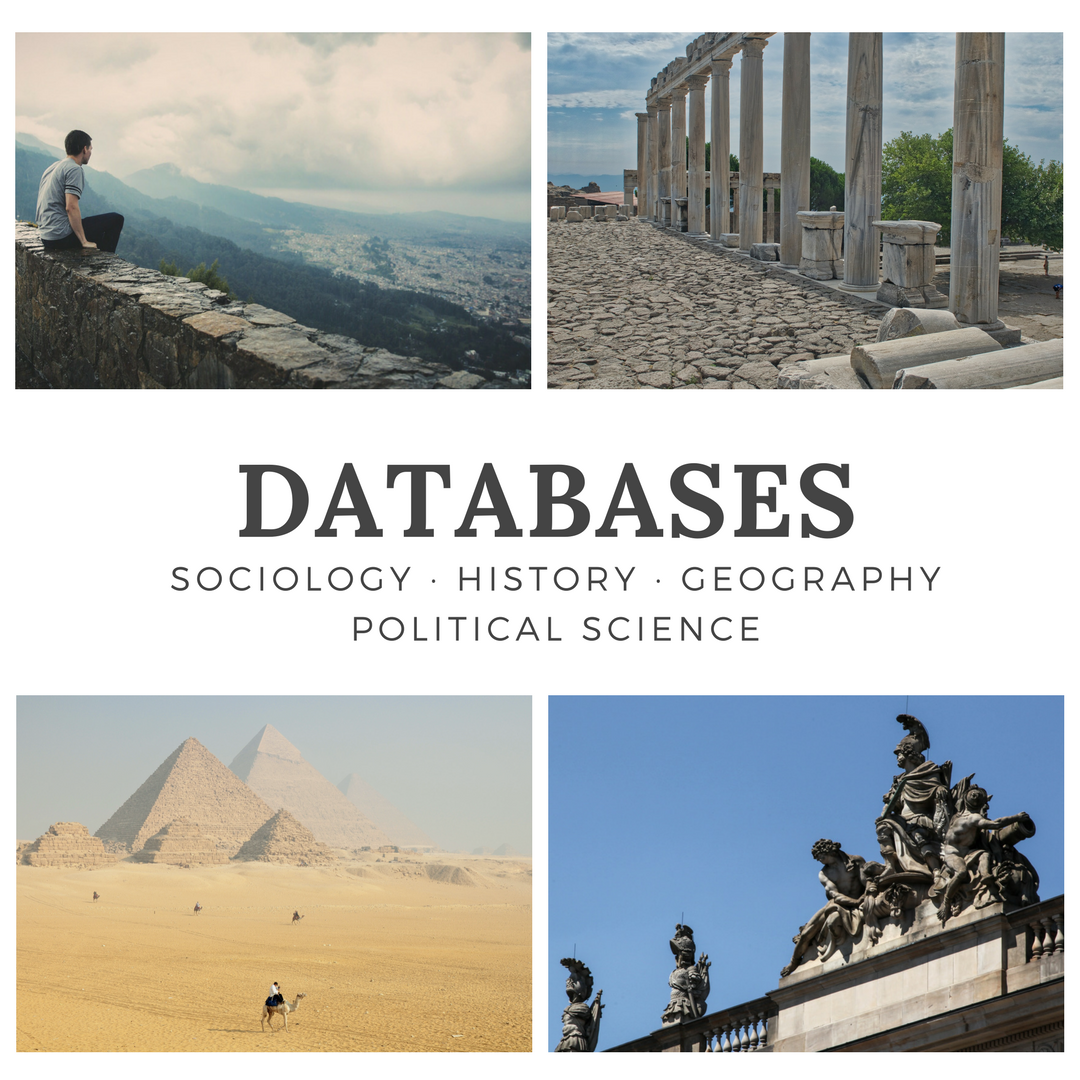 Databases for humanities decorative
