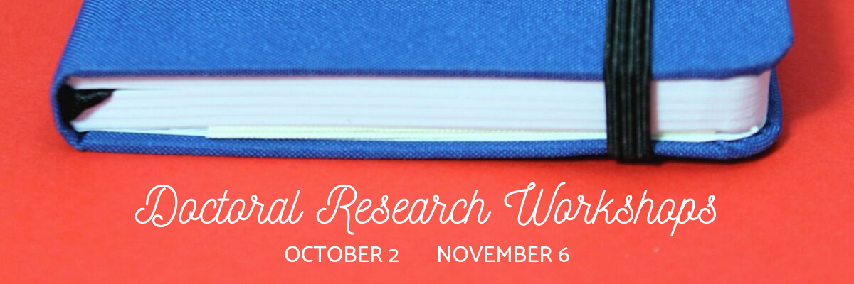 Doctoral Research Workshops