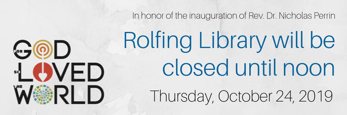 Rolfing will be closed until noon Thursday, October 24