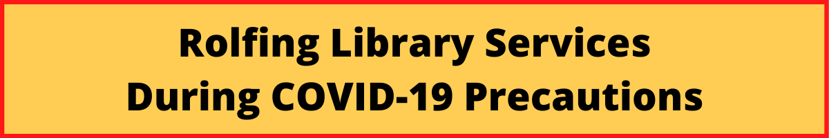 Library Services During COVID-19 Precautions