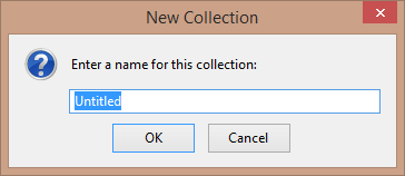 Zotero New Collection