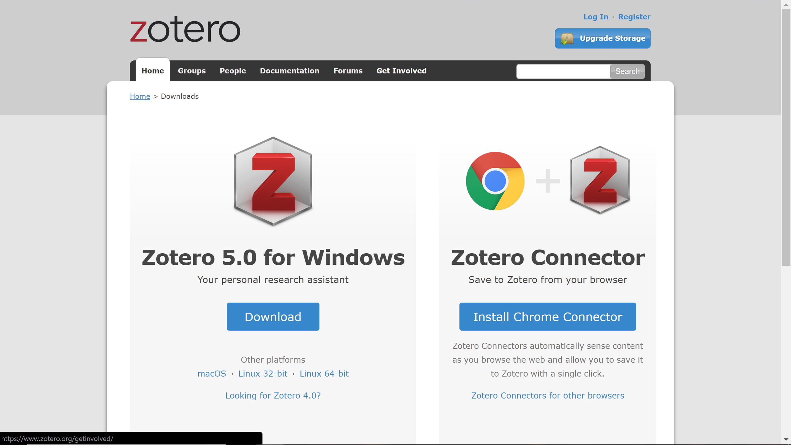 Zotero Downloads
