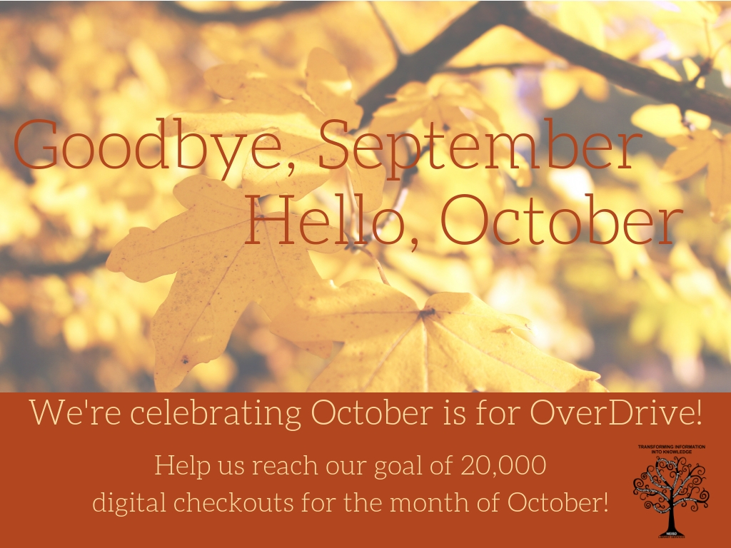 October is for OverDrive