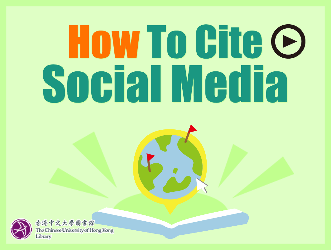 How to Cite Social Media