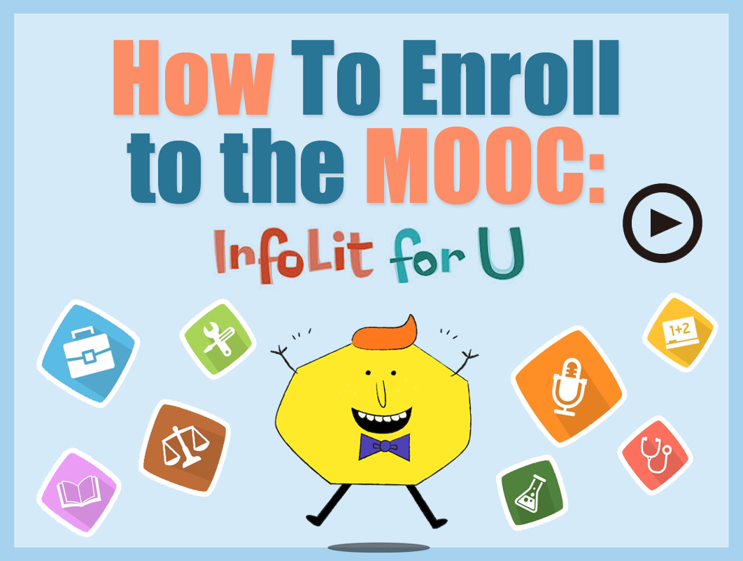 How to enroll MOOT InfoLit for U