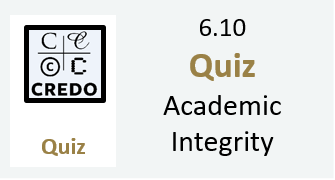 6.10 Quiz: Academic Integrity