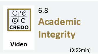 6.8 Video: Academic Integrity (3:58min)