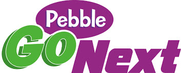 Pebble Go Next logo