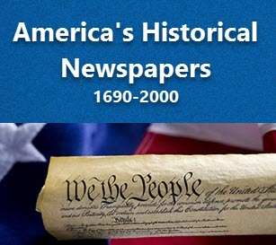 America's Historical Newspapers logo