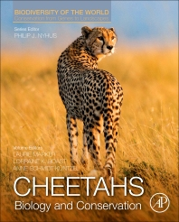 Book cover: Cheetahs Biology and Conservation