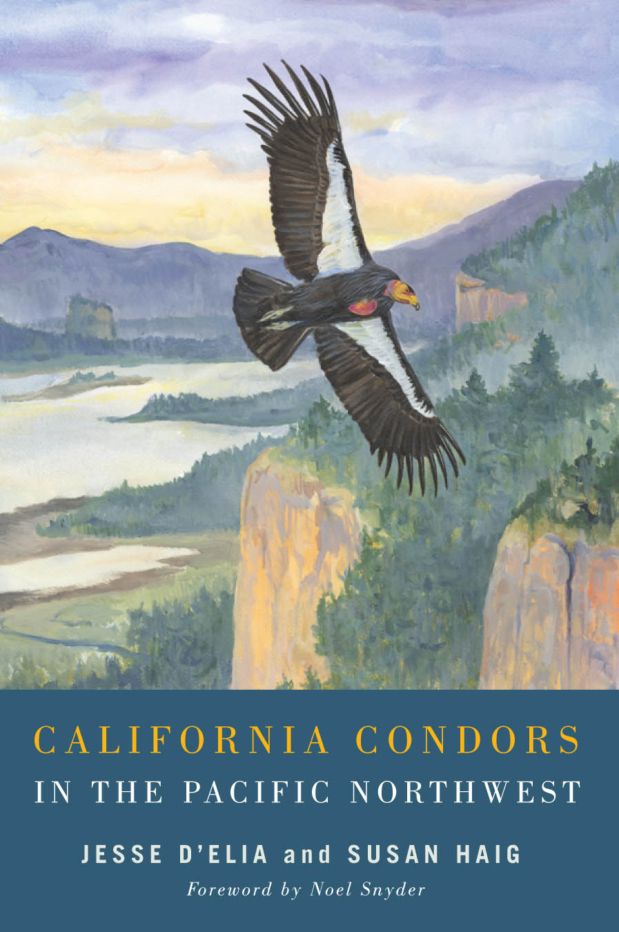 California Condors of the Pacific Northwest (book cover)