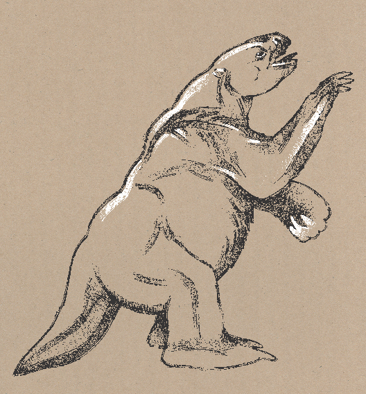 Extinct Ground Sloth