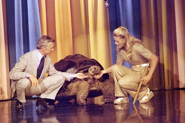 a GGT, Johnny Carson, and Joan Embery