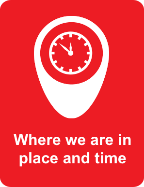 Go to Where we are in place and time
