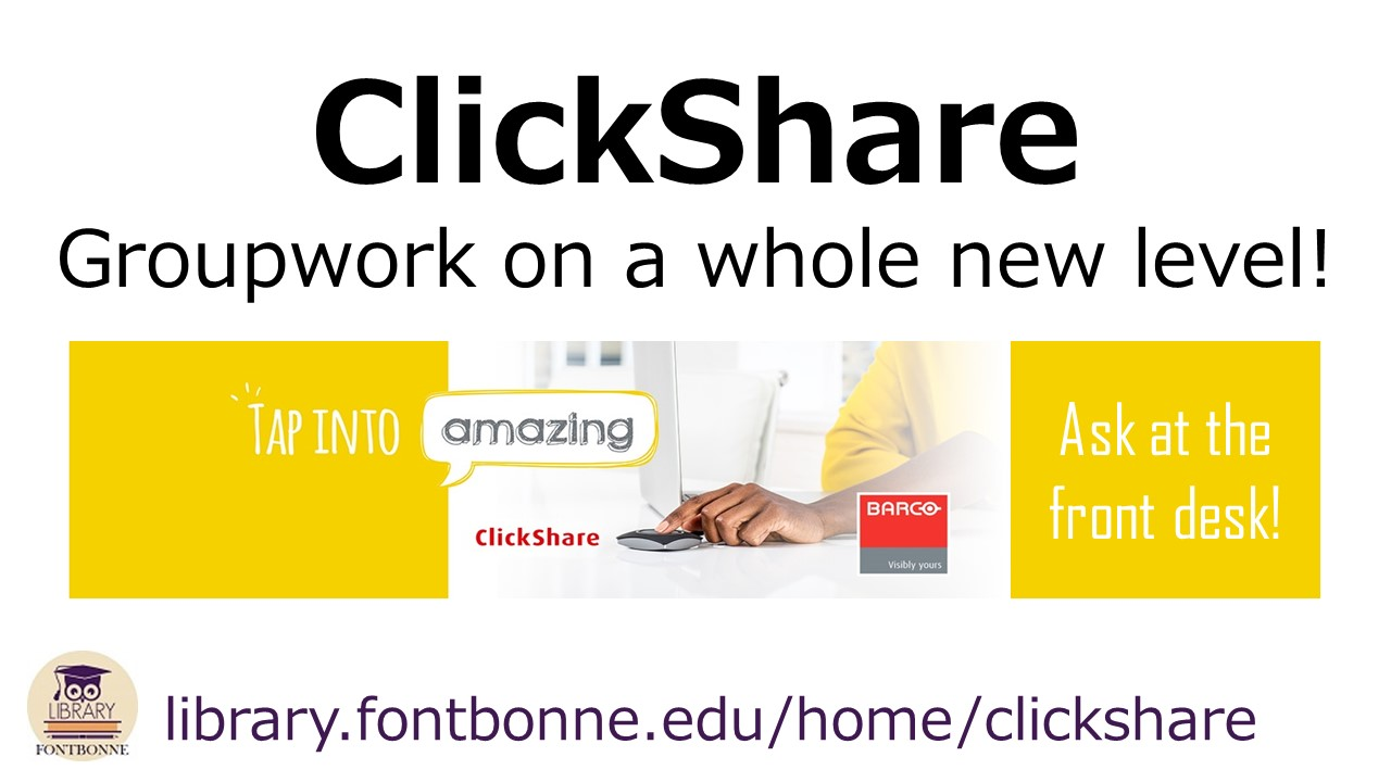 ClickShare - group work on a whole new level