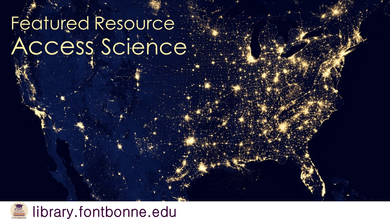 Featured Resource: Access Science