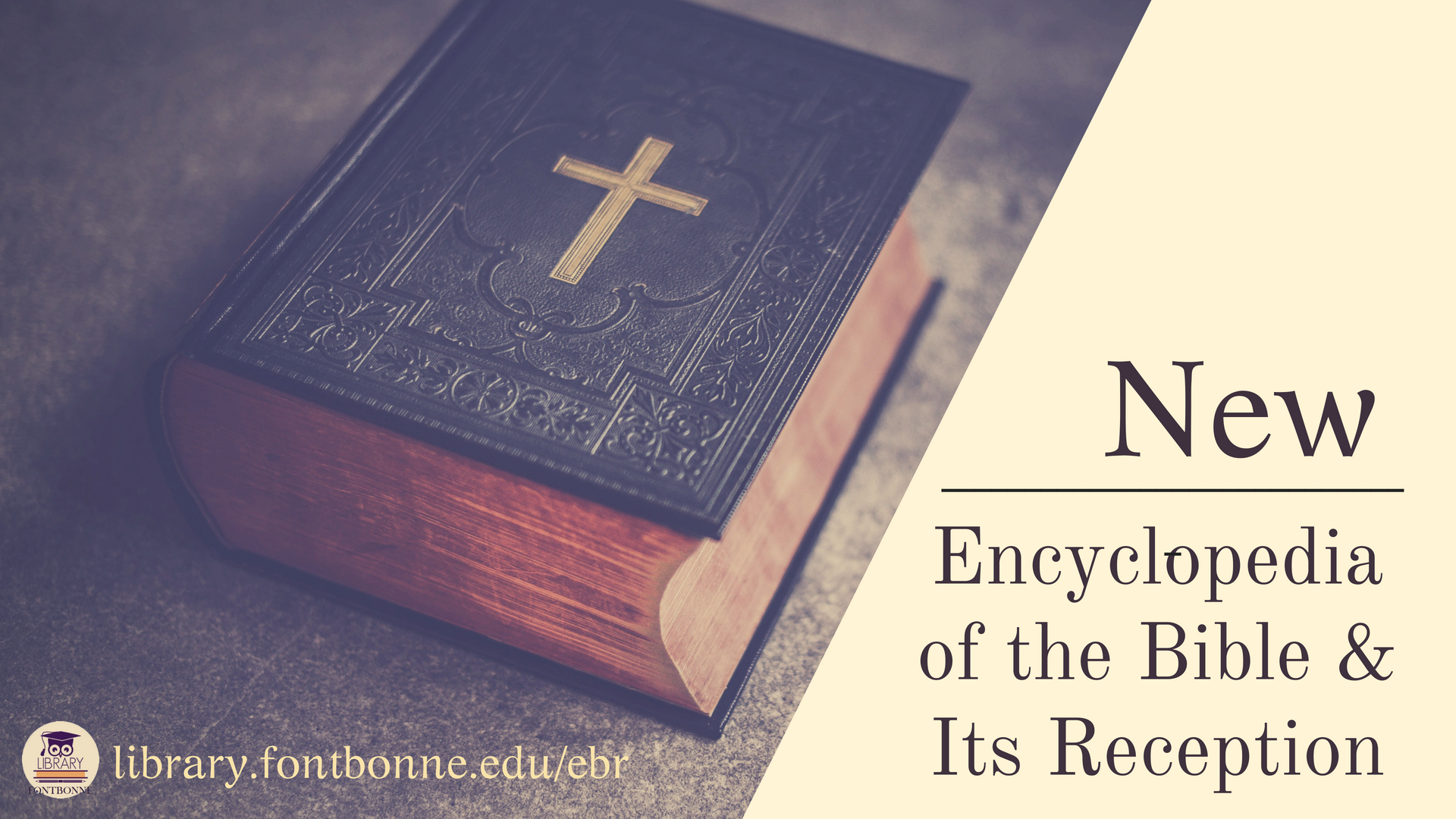 Featured Resource: Encyclopedia of the Bible & Its Reception