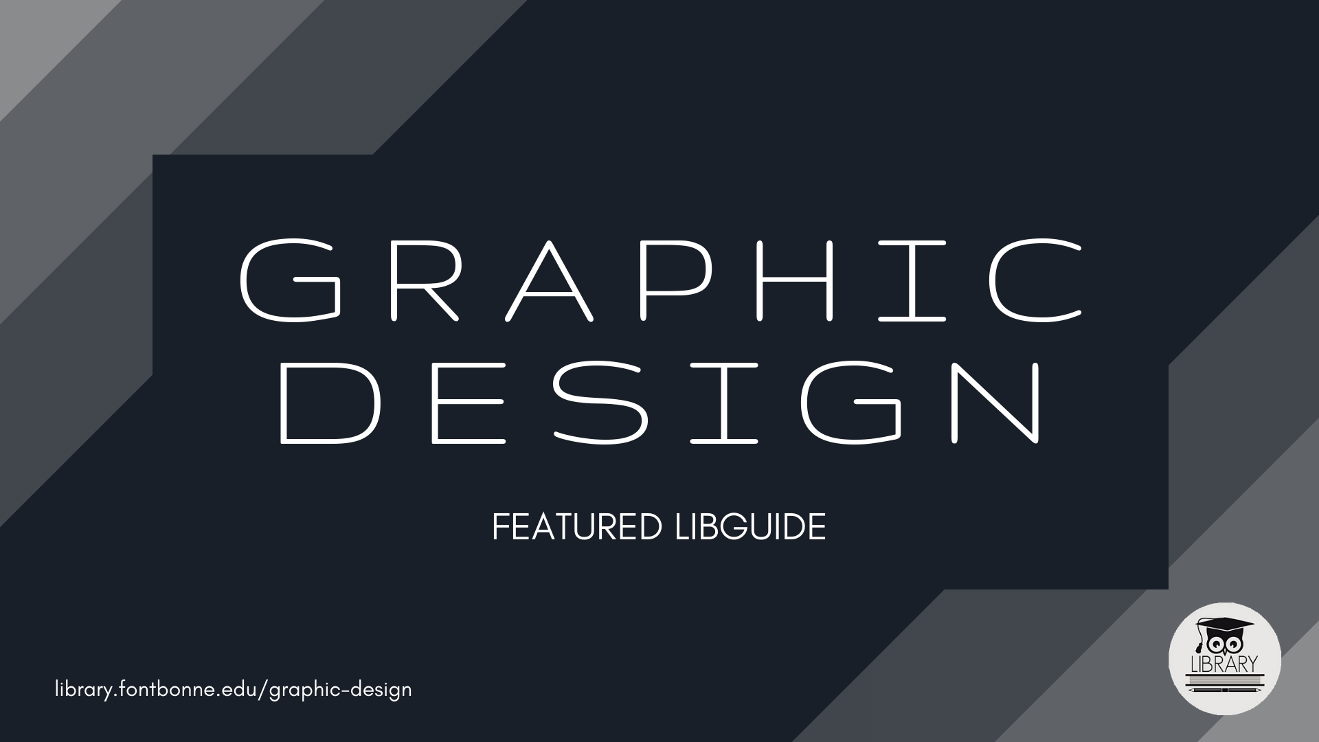 Learn more about graphic design with LibGuides