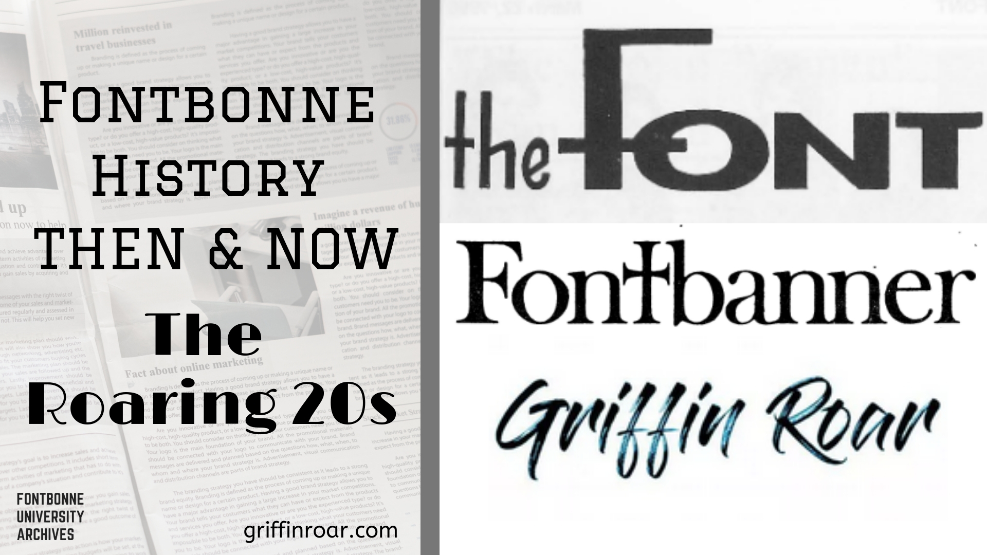 Read about the history of Fontbonne