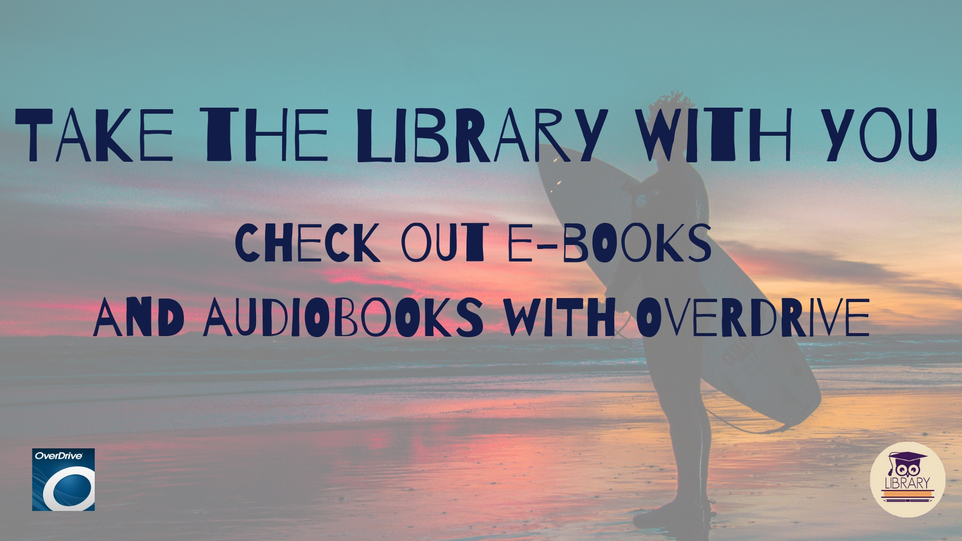 get ebooks and audiobooks with overdrive!