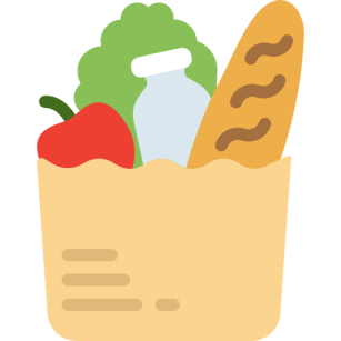 Groceries icon made by Smashicons from www.flaticon.com