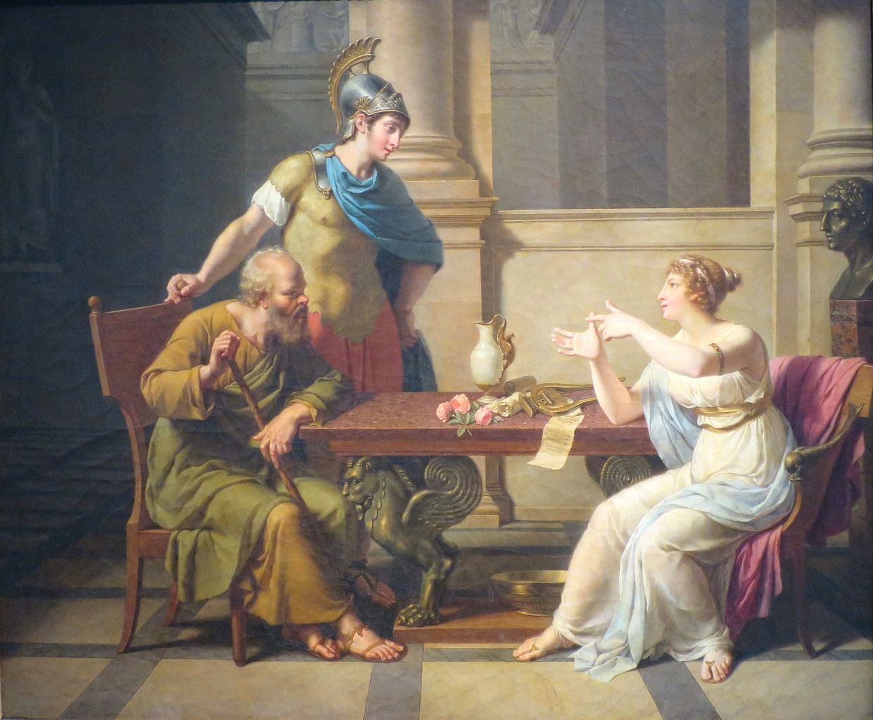 The Debate of Socrates and Aspasia